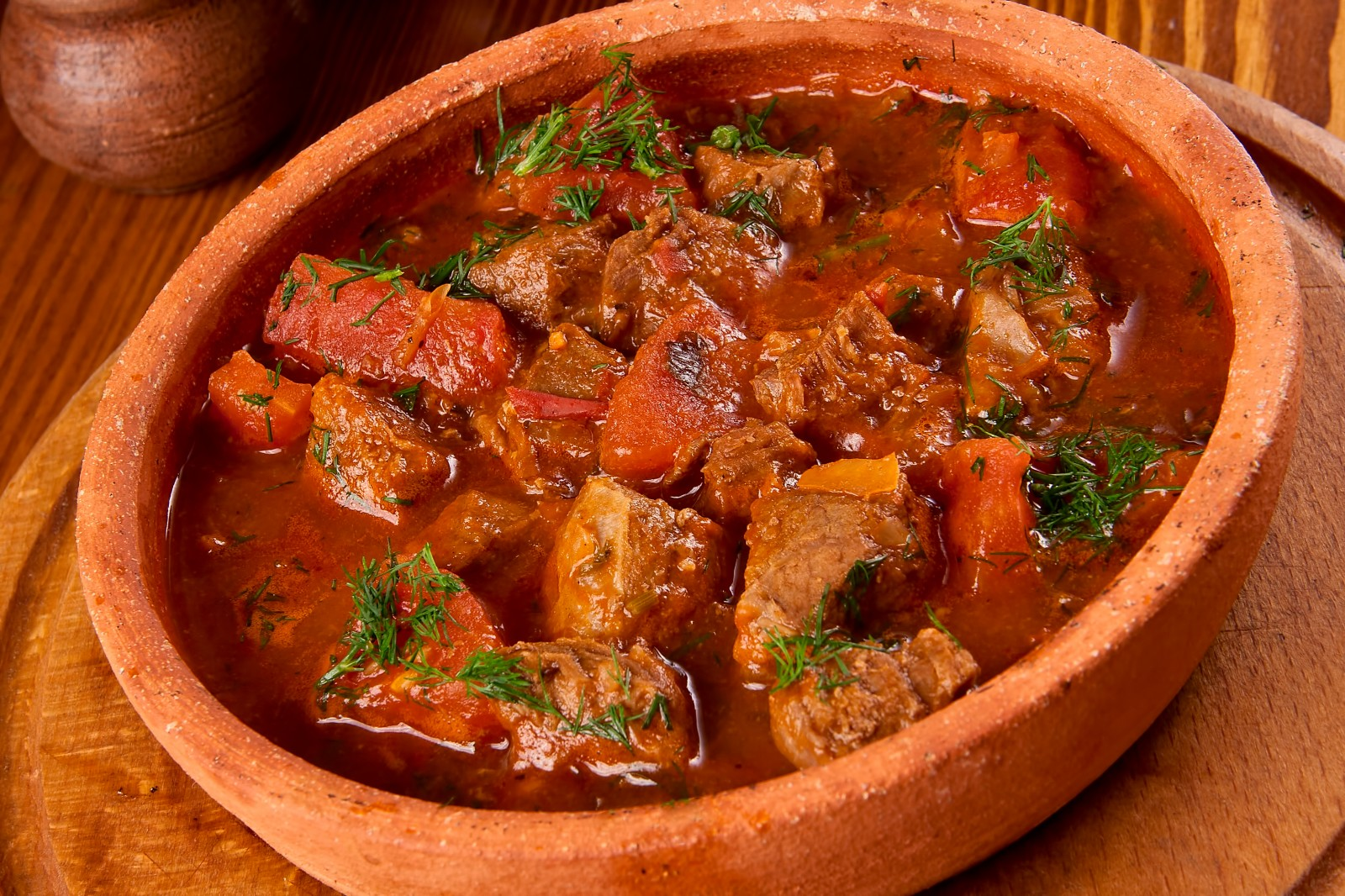 Мясо тушеное по-грузински рецепт