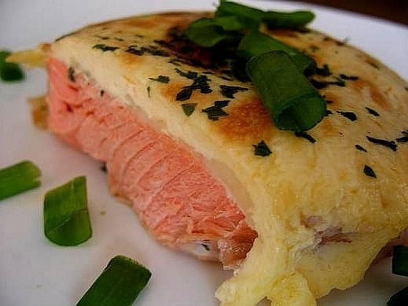 Красная рыба с ананасами в духовке рецепт пошагово