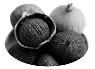 black garlic черный чеснок meatandfish.ru