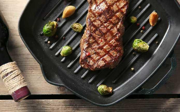 Как приготовить нежный стейк в барбекю. Способ жарки