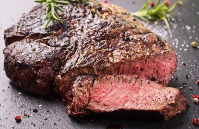 Как приготовить нежный стейк в барбекю