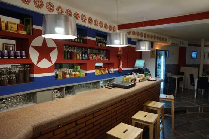 Кафе Pyongyang - маленький кусочек Северной Кореи на побережье Испании.