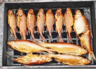 Как закоптить рыбку
