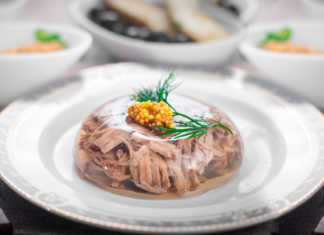 Холодец со свининой и говядиной